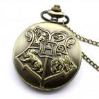 Kapesní hodinky Harry Potter - Bradavický erb