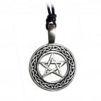 Keltský amulet s pentagramem