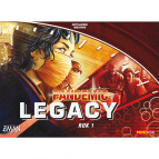Pandemic: Legacy - červený