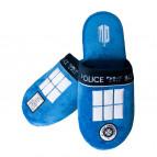 Pantofle Doctor Who - Tardis
