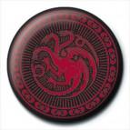Placka Game of Thrones - Targaryen Sigil
