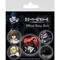 Sada placek Death Note - Characters, 5 ks