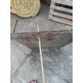 Šíp dřevěný, péřové letky