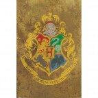Plakát Harry Potter - bradavický erb