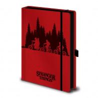 Zápisník Stranger Things - Upside Down