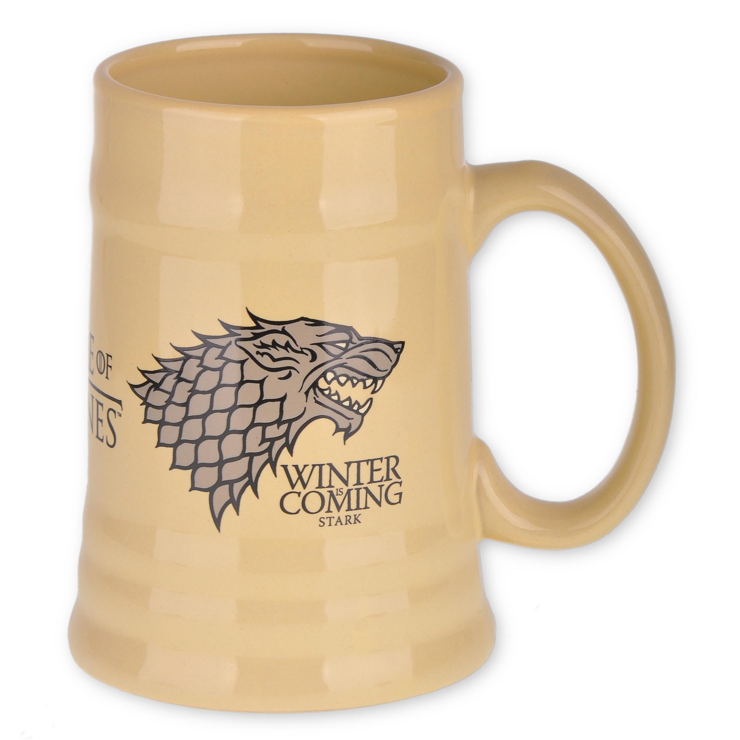 Keramický korbel Game of Thrones - House Stark