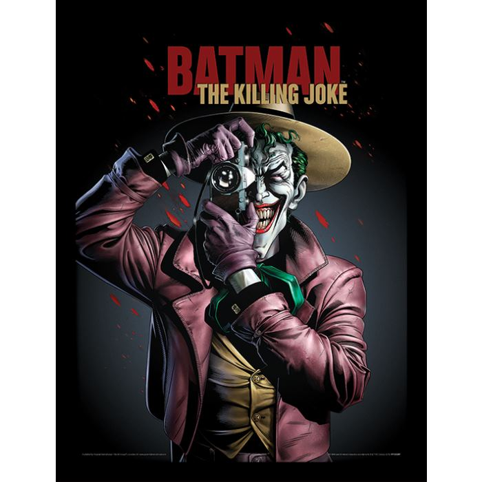 Obraz Batman - The Killing Joke Cover