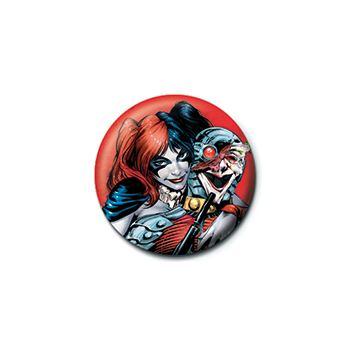 Placka Harley Quinn, červená