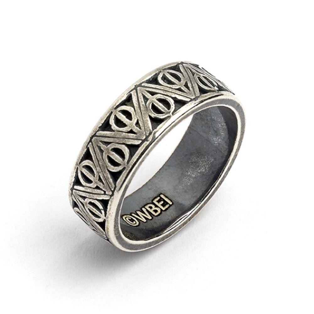 Prsten Harry Potter - Relikvie smrti, nerez, 20 mm