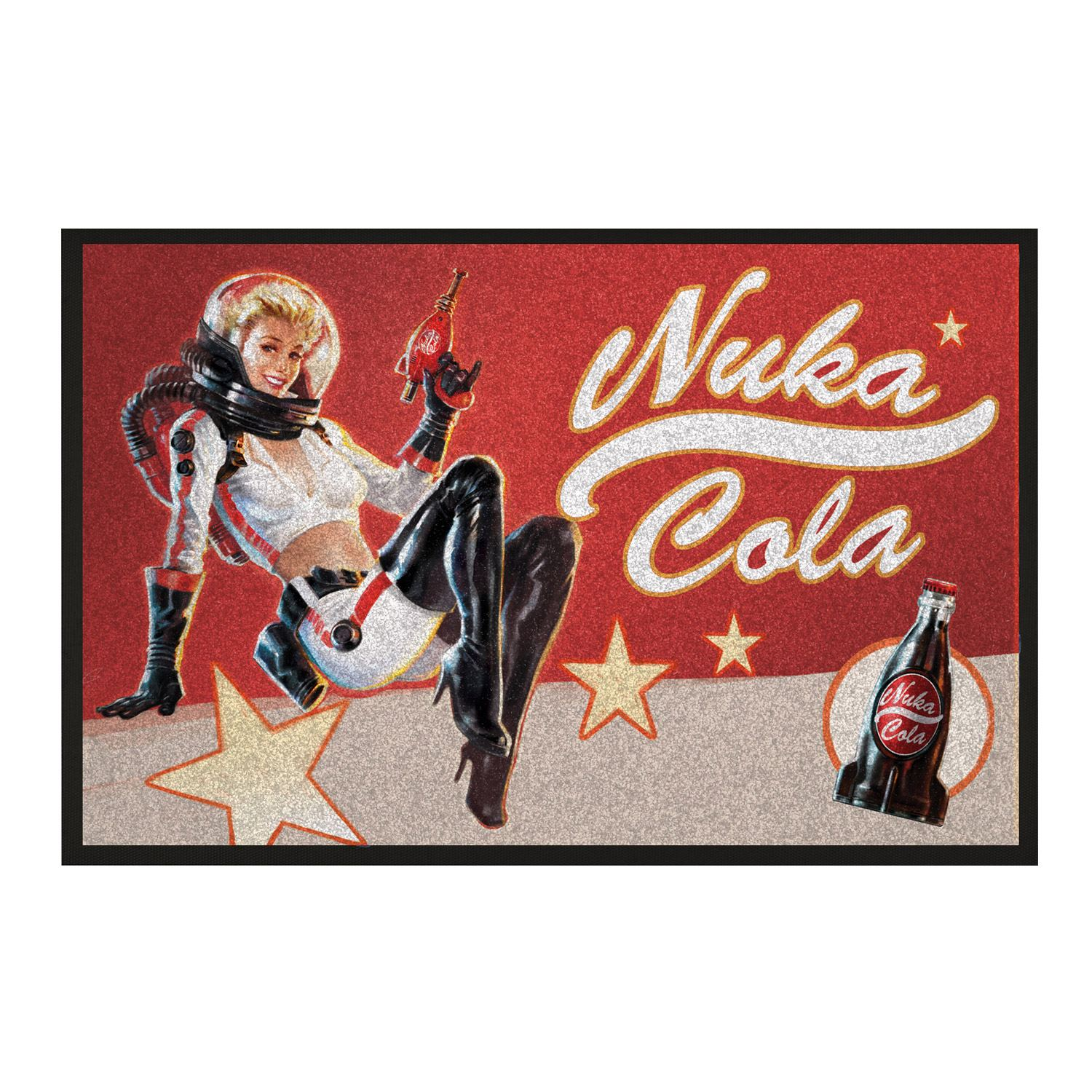 Rohožka Fallout - Nuka Cola Pin-Up