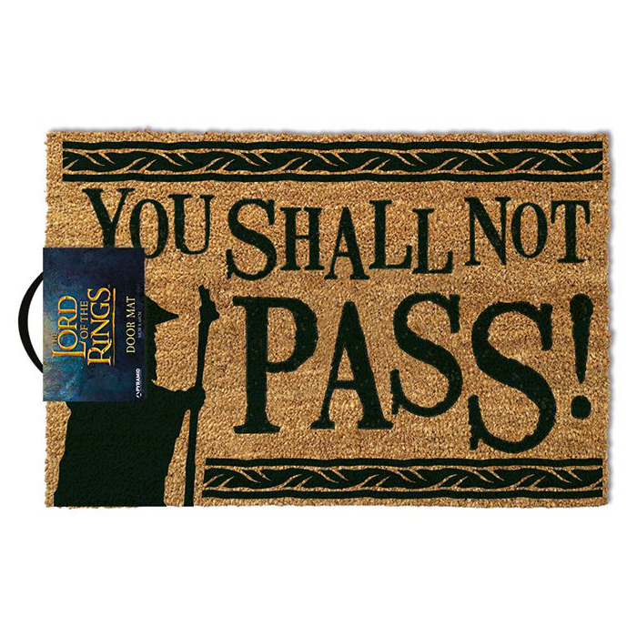 Rohožka Lord of the Rings - You Shall Not Pass