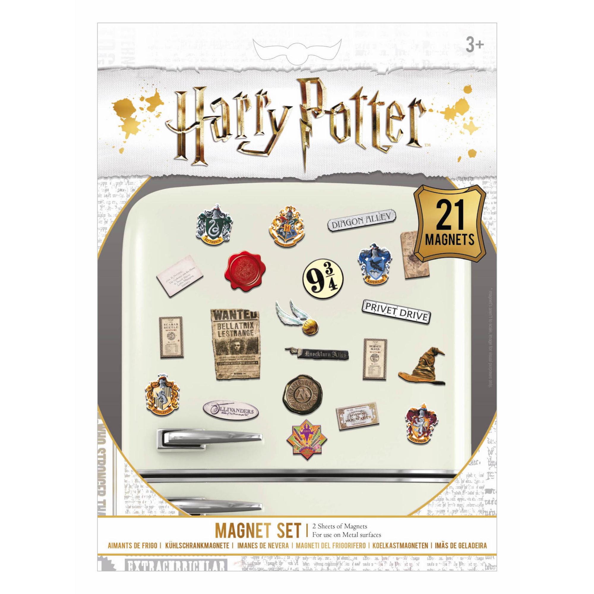 Sada magnetek Harry Potter - Wizardry (21 ks)