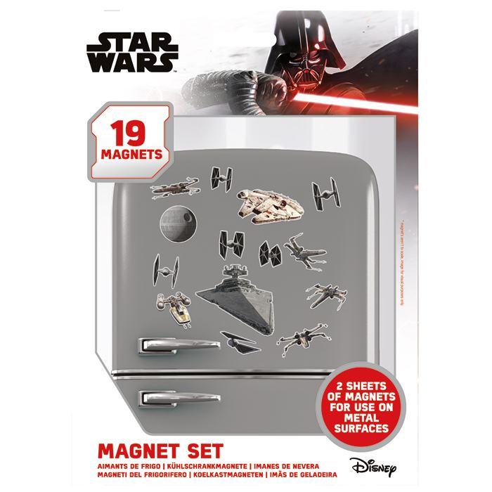 Sada magnetek Star Wars - Death Star Battle (19 ks)