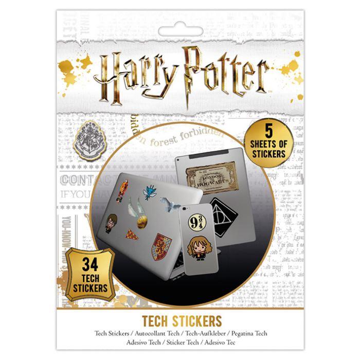Sada vinylových samolepek Harry Potter - Artefakty