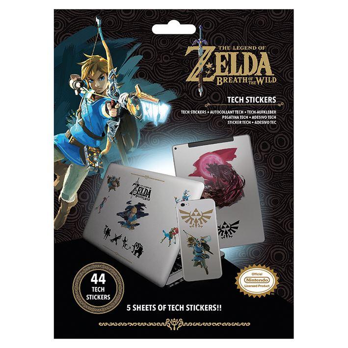 Sada vinylových samolepek The Legend of Zelda (44 ks)