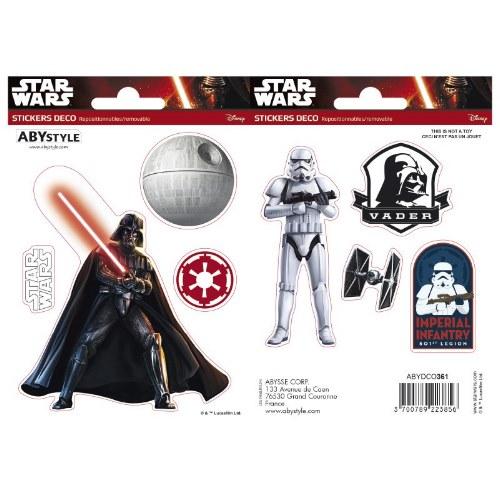 Samolepky Star Wars - Darth Vader a Trooper