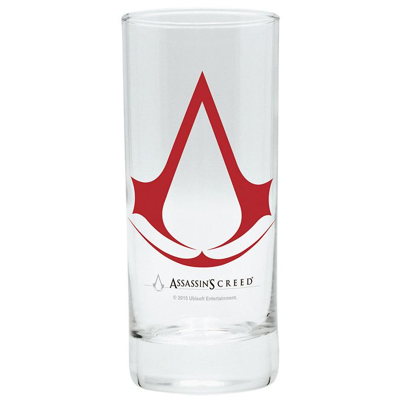 Sklenice Assassins Creed - Logo