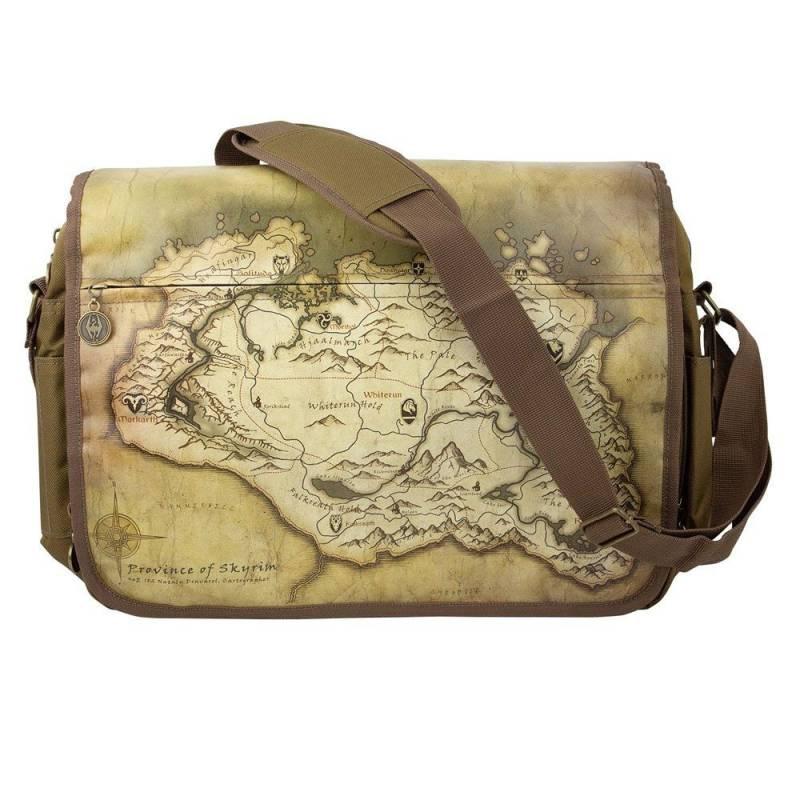 Taška přes rameno Elder Scrolls - Mapa