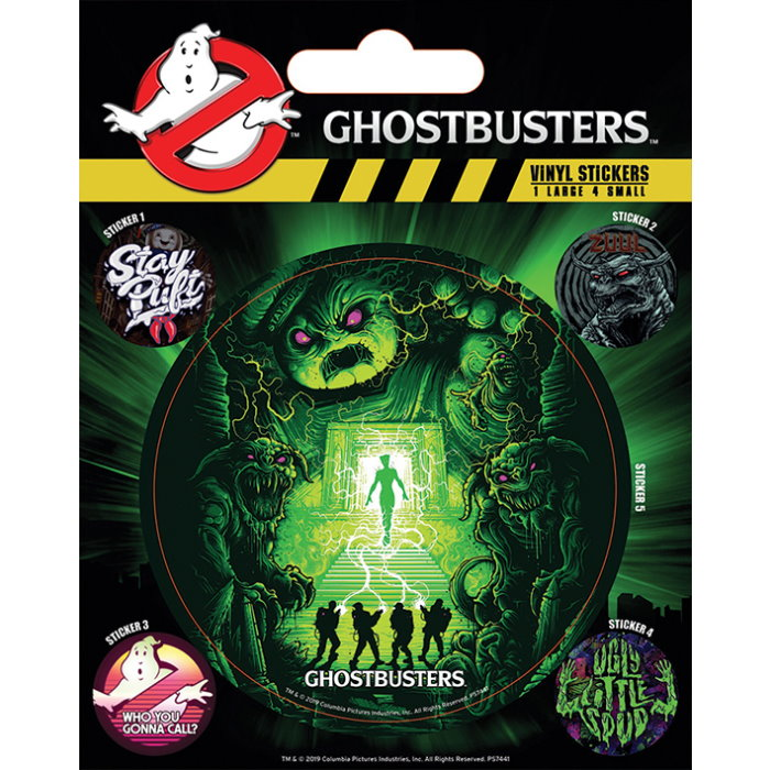 Vinylové samolepky Ghostbusters - Ghosts and Ghouls