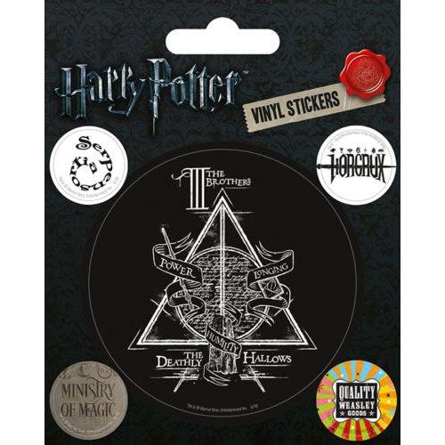 Vinylové samolepky Harry Potter - Symboly
